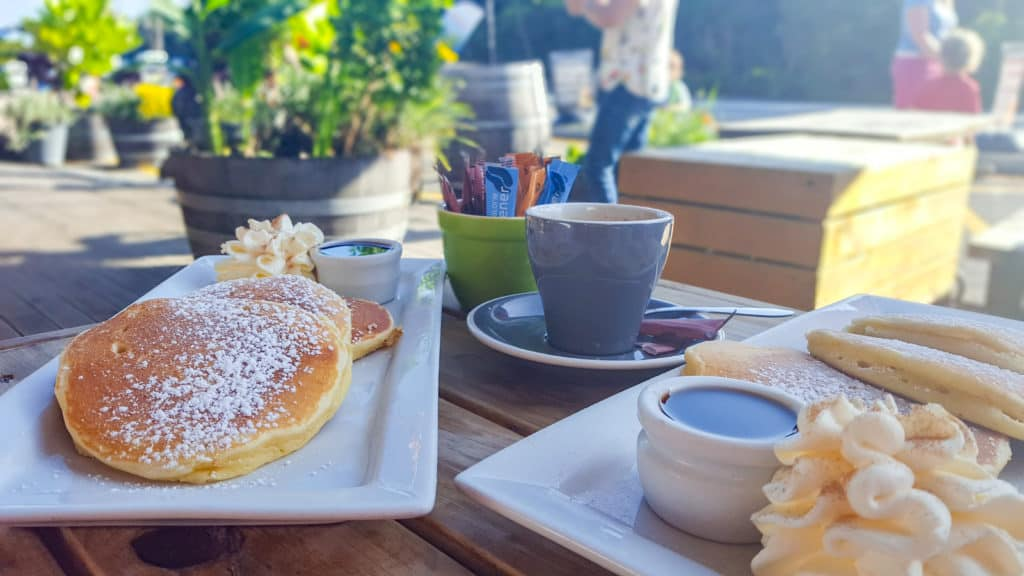 Pancakes at the West Coast