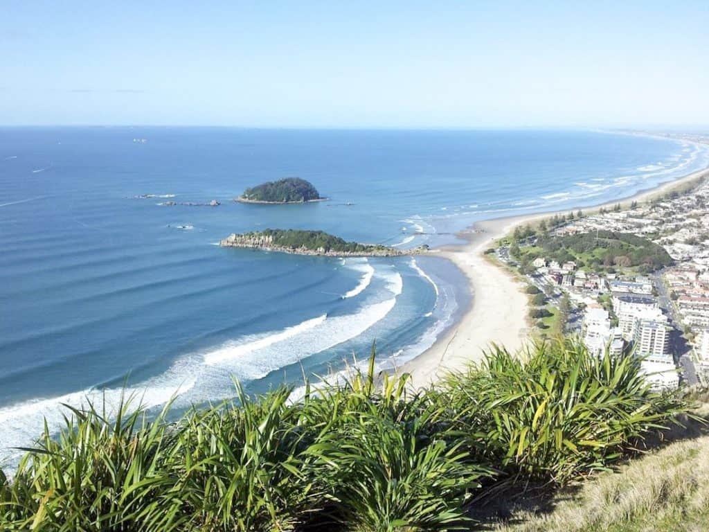 Beaches New Zealand Mount Maunganui