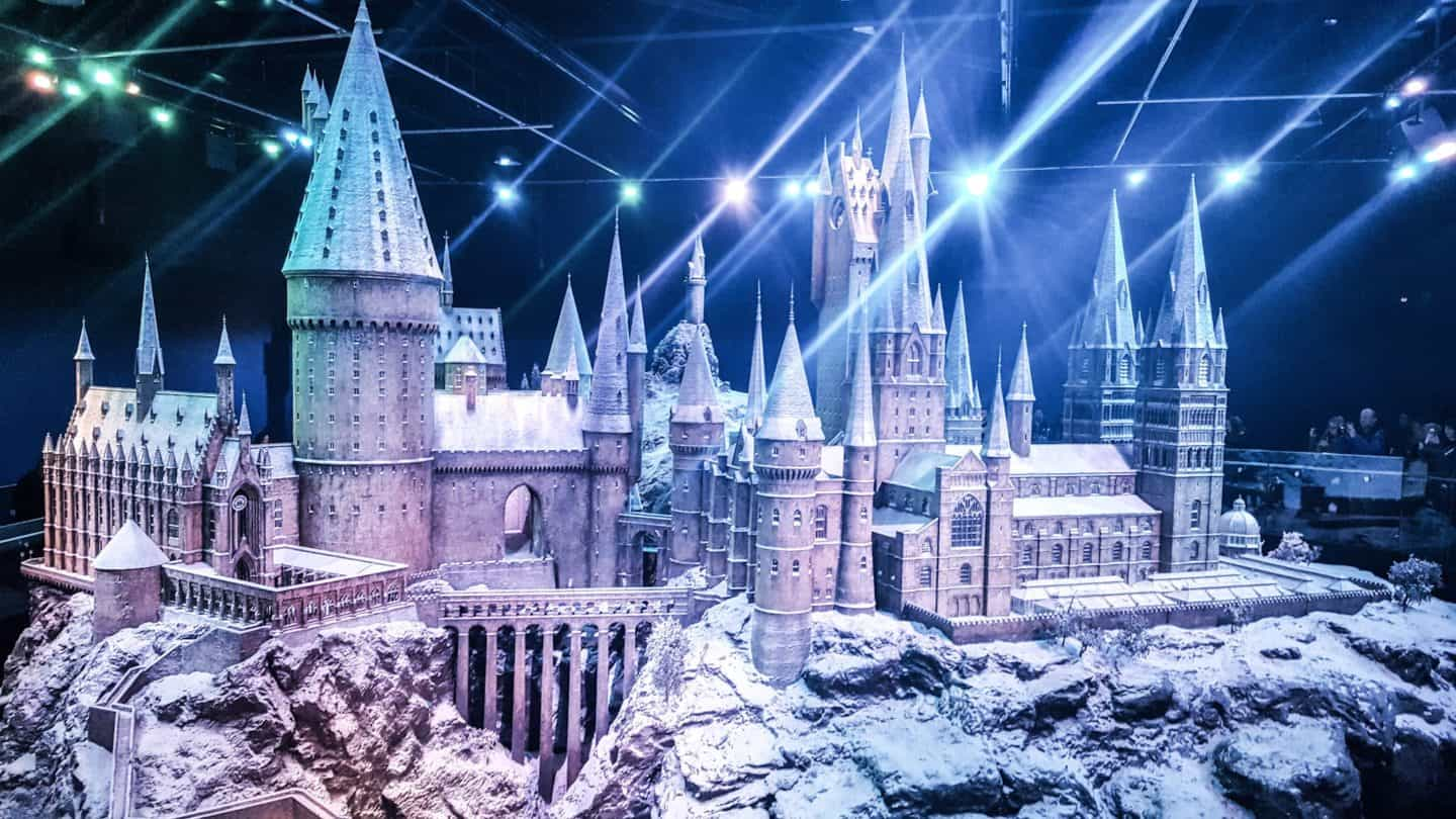 Harry Potter Studio Tour - Hogwarts in the snow